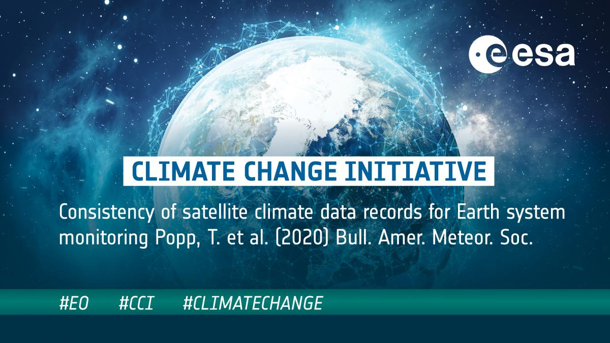New paper: Consistency of satellite climate data records for Earth system monitoring